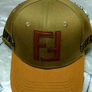 Fendi Zucca Monogram baseball hat